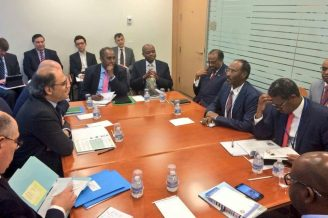Somali Minister for Finance with IMF