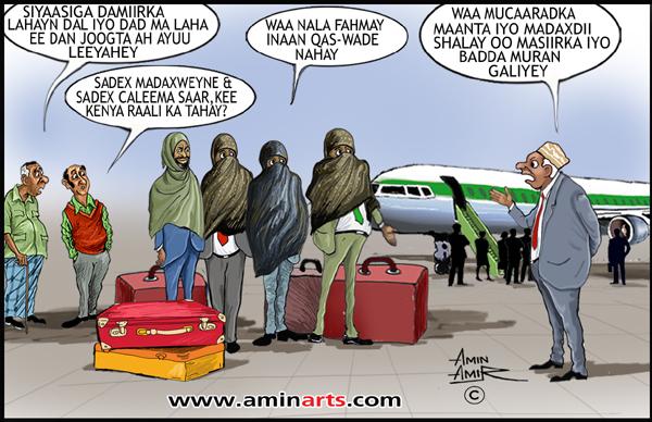 Cartoon - Xannibaadda diyaaradaha